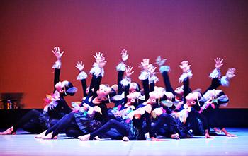 鏡眞理子現代舞踊教室ジュニアクラス